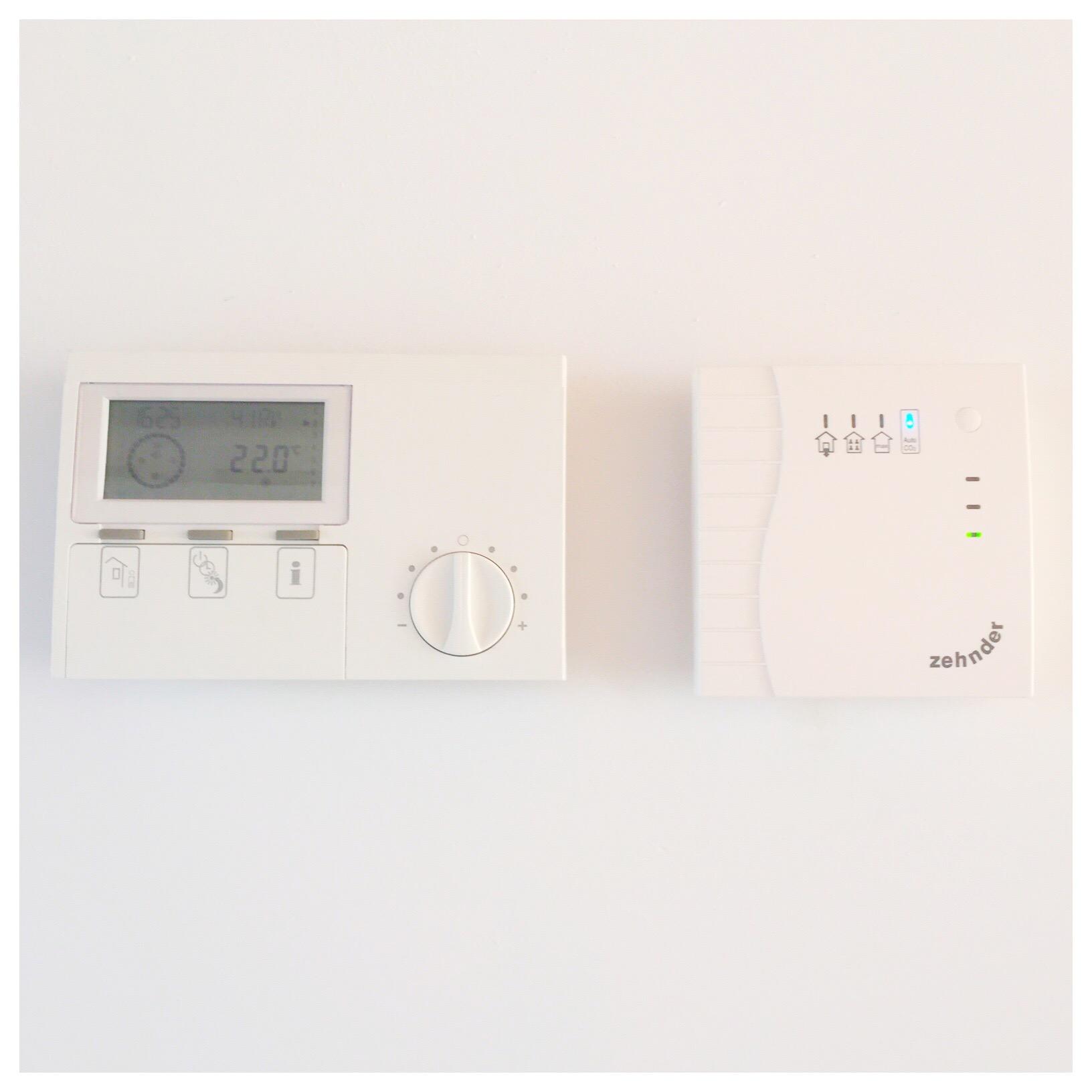thermostaat balansventilatie en warmtepomp
