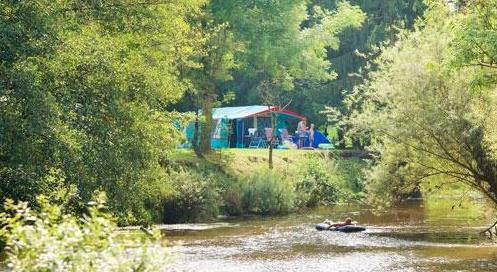 Campingtips in Europa tent aan het water