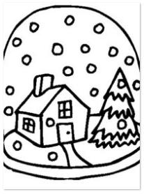 Kleurplaten Printen Winter.Kleurplaat Schaatsen Met Sneeuw Kleurplaat Schaatsen Ijs Ijspret