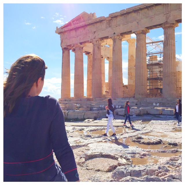 Acropolis stedentrip athene