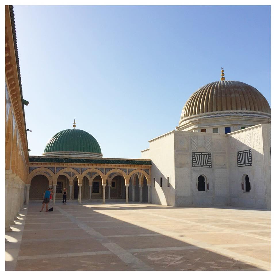 Op vakantie naar Tunesië paleis monastir
