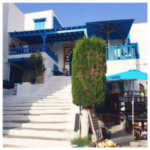 Cafe des Nattes in Sidi Bou Saïd