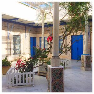 Charmehotel Dar Said binnentuin
