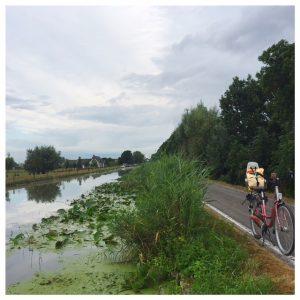 onderweg fietstocht