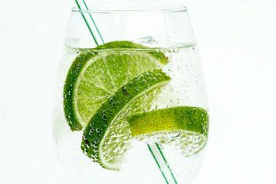 gin tonic met limoen
