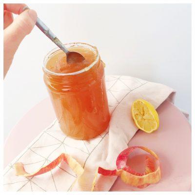 Appeljam en appelsiroop recept