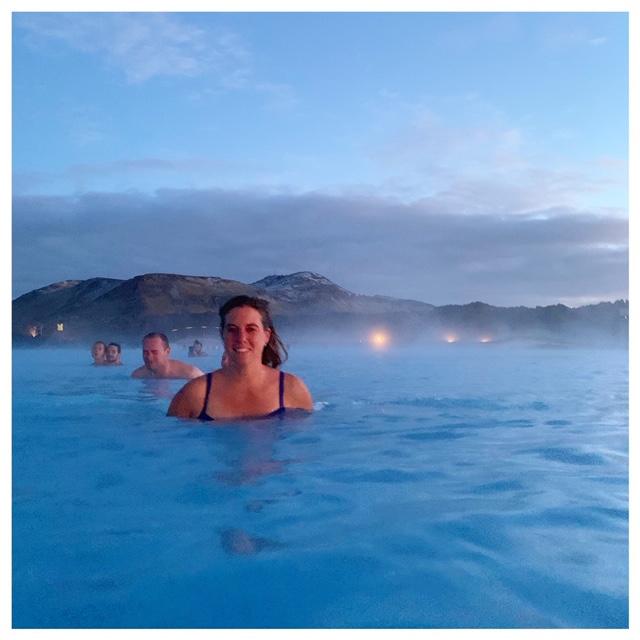 the blue lagoon in IJsland