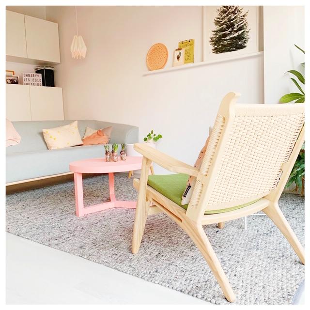 Een Scandinavische stoel