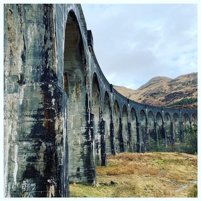 Schotland met kinderen: in de voetsporen van Harry potter viaduct