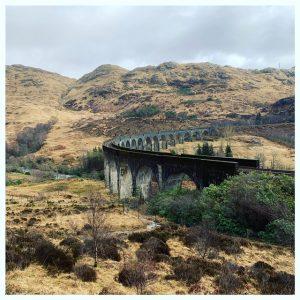 Glenfinnan viaduct zweinstein express