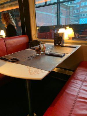 dinner train tafel