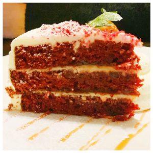landal piperdam red velvet cake