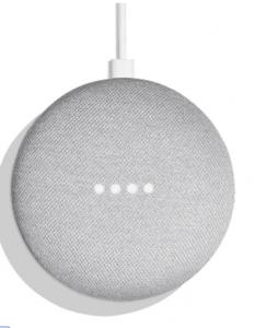 google home mini van bovenaf
