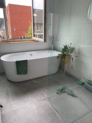 badkamer schoongemaakt jun 2019