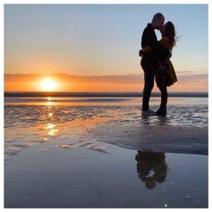 relatie vragen kus ondergaande zon