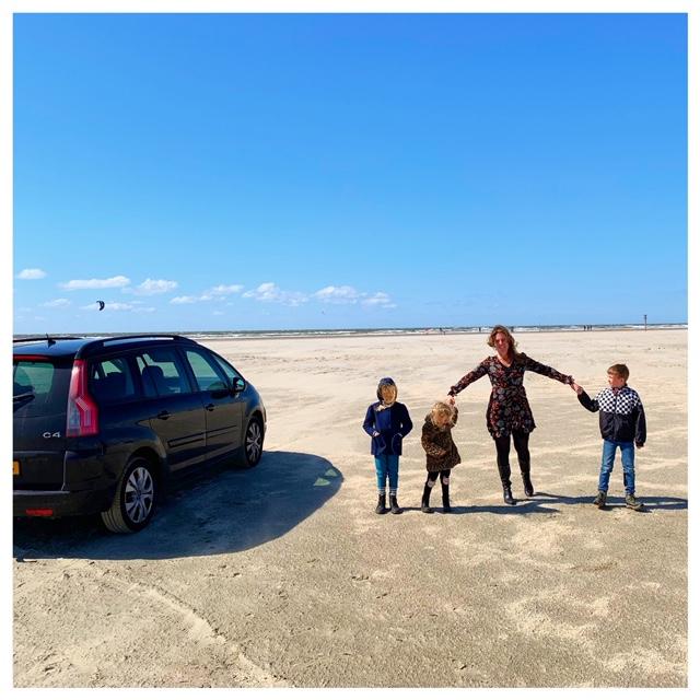 rømø auto op het strand ribe denemarken