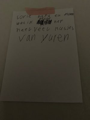 lief briefje Yuren