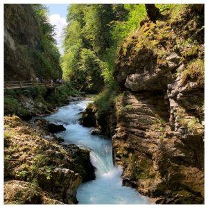 waterval vintgar gorge