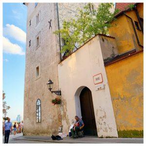 Lotrščak Tower straatje