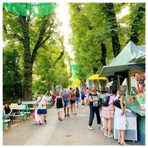 strossmayer promenade zagreb bomen