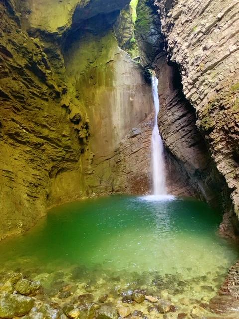 Kozjac waterval