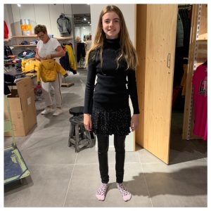 Sterre black outfit