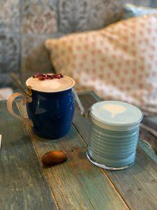 blauwe melk mugs