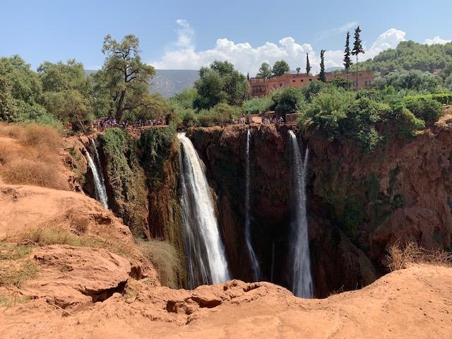 ouzoud watervallen overzicht