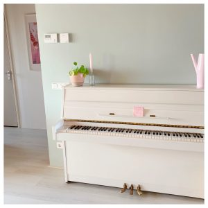 tranquil dawn flexa piano muur