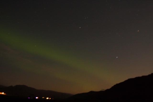 IJsland Noorderlicht onderweg naar Holmavik