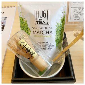 matcha tea hug the tea