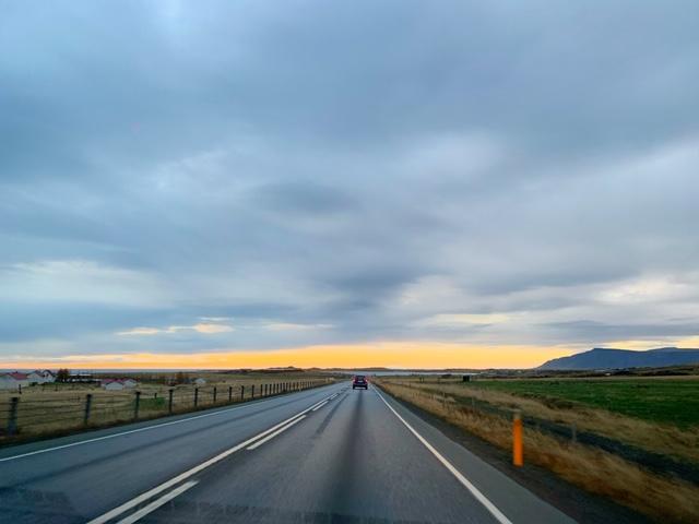 Weg naar Holmavik in IJsland