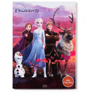 Frozen adventskalender chocolade