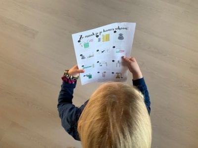 free printable zo leer je je kind zelf een kamer opruimen en schoonmaken