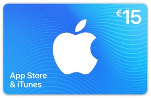 iTunes kaart