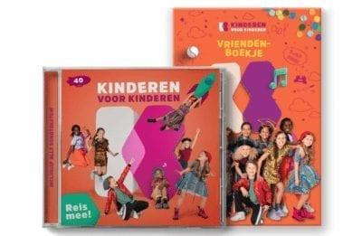 kinderen voor kinderen 40 cd en vriendenboekje