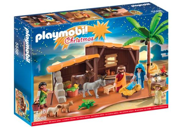 playmobil kerststal adventskalender