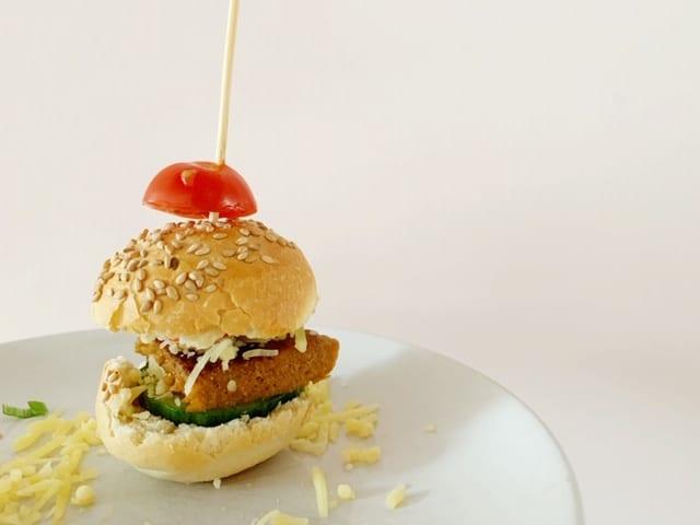 vega mini burgertjes vegetarisch gourmetten