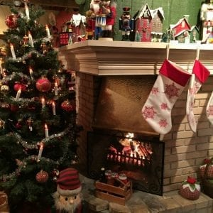 Jólagarðurinn kerstsokken