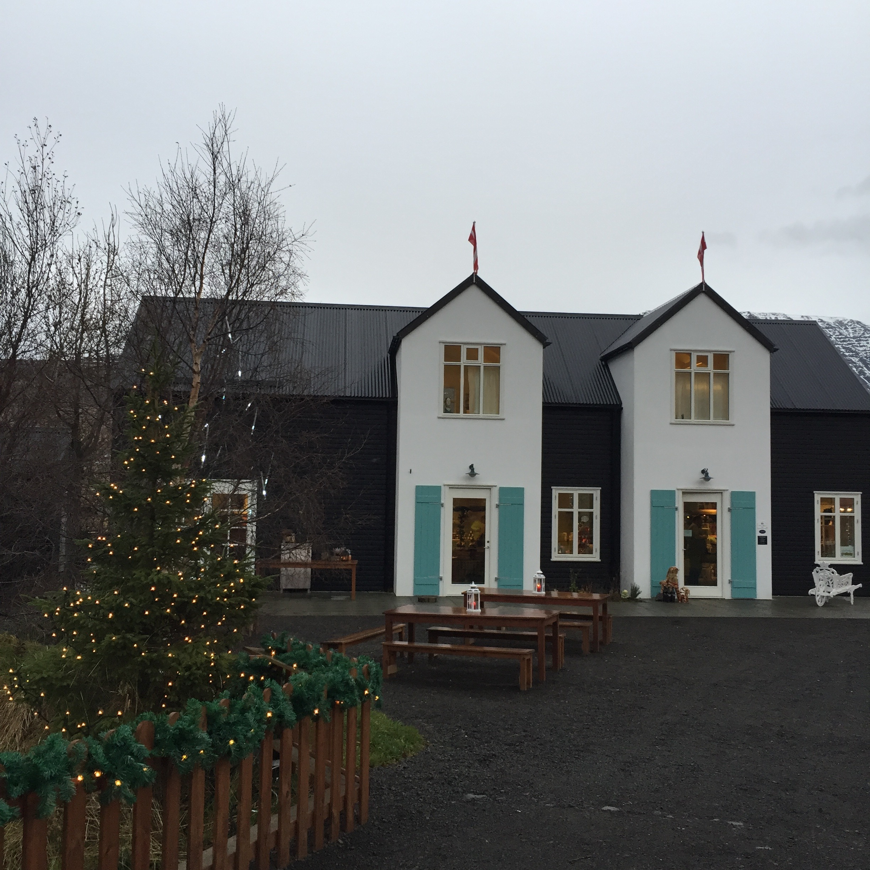 The Christmas Garden Akureyri entree