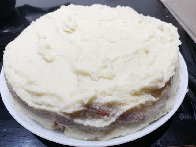 bijzondere taart; gletsjertaart uit IJsland