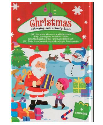 boek met kerstspelletjes