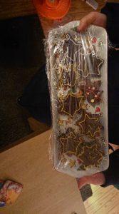 chocolade koekjes met sterretjes