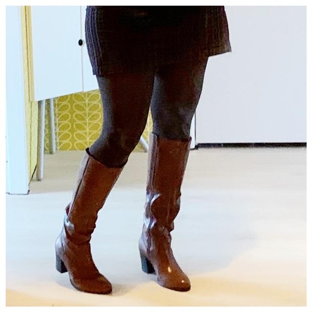 bruine laarzen sacha