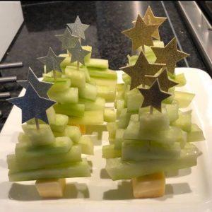 komkommer kerstbomen