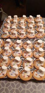 melting snowman koekjes