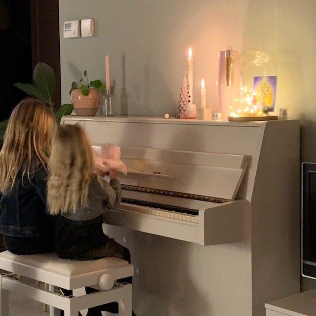 piano spelen kerst 2019