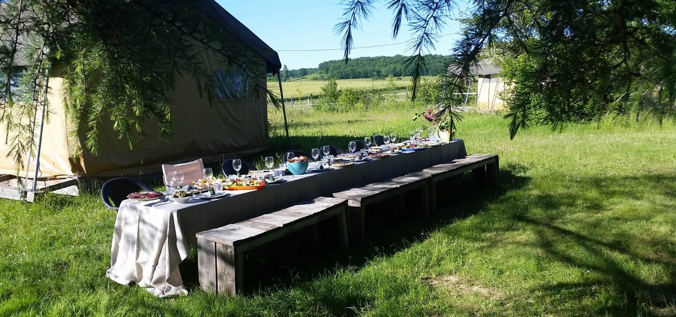 permacultuur boerderij camping