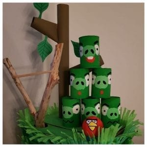 surprise angry birds