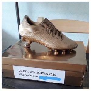 surprise gouden schoen